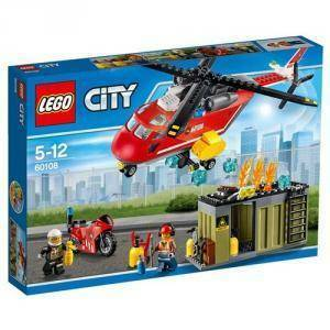 lego lego unita' di risposta antincendio dei pompieri