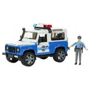 bruder bruder land rover polizia