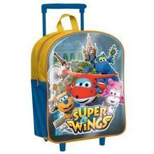 giocheria giocheria zaino superwings mini trolley