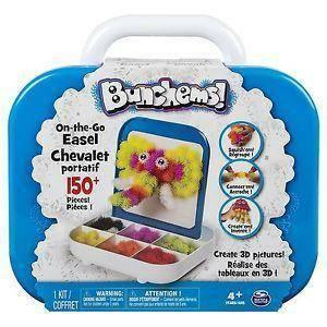 spinmaster bunchems kit trasportabile confezione 150 pezzi
