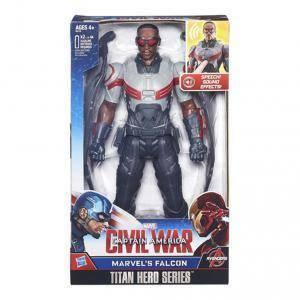 hasbro - mb hasbro - mb personaggio falcon elettronico civil war