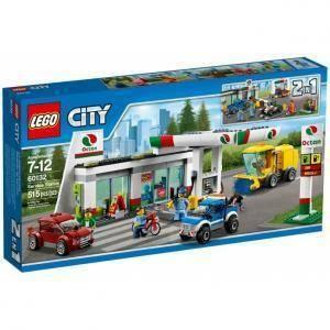lego stazione di servizio lego city 60132