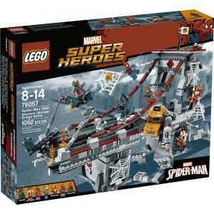 lego spiderman la battaglia sul ponte lego76057
