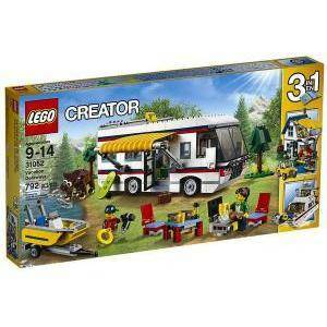 lego vacanza sul camper lego creator 31052