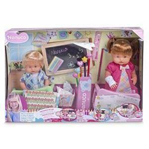 famosa famosa nenuco scuola con due bambole