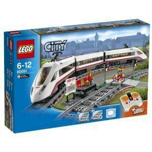 lego treno passeggeri alta velocita' lego 60051