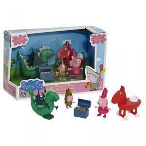 giochi preziosi peppa principessa george e il drago