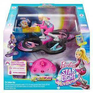 mattel mattel barbie hoverboard galattico star light adventure