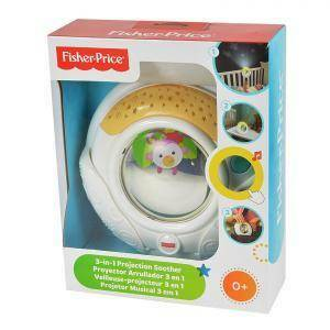 fisher price fisher price projection soother 3in1