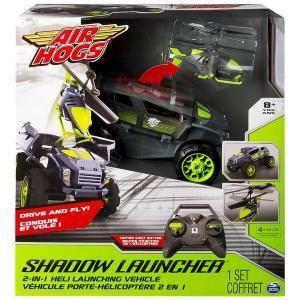 spinmaster shadow launcher veicolo radiocomando air hogs