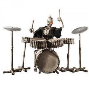 carnival toys carnival toys scheletro batterista in lattice con batteria