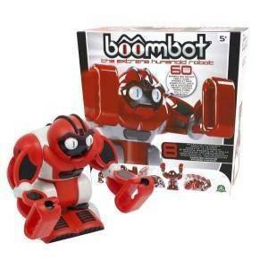 giochi preziosi giochi preziosi boombot robot interattivo spaccatutto