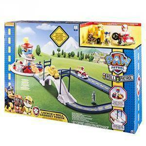 spinmaster spinmaster on a roll playset quartier generale pawpatrol