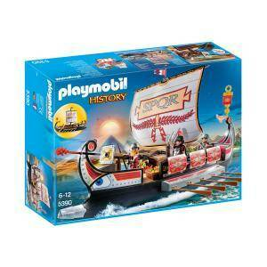 playmobil playmobil galera romana con rostro