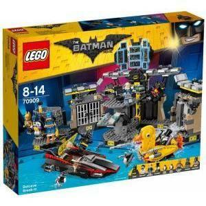 lego scasso alla batcaverna lego 70909