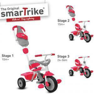 giochi preziosi giochi preziosi triciclo smart trike 3 in 1 unisex