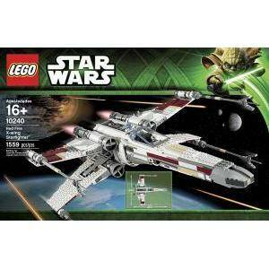 lego red five x-wing starfighter lego star wars 10240