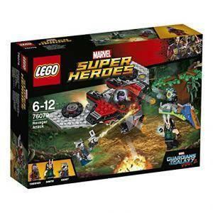lego l'attacco del ravager lego super heroes