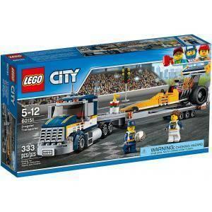 lego lego trasportatore di dragster