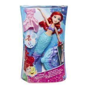 hasbro - mb hasbro - mb disney princess ariel sirena magica