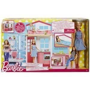 mattel mattel casa componibile barbie