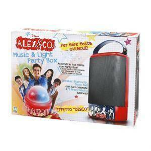 giochi preziosi giochi preziosi alex & co speaker con dispositivo bluetooth