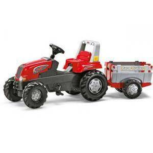 rolly toys rolly toys rolly junior rt con rimorchio farmtrac
