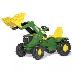 rolly toys rolly toys trattore a pedali farmtrac john deere con ruspa