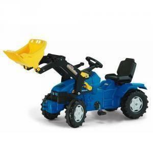 rolly toys rolly toys trattore new holland con ruspa rollytrac