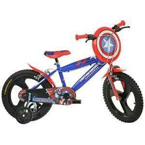 dino bikes dino bikes bicicletta capitan america 16''