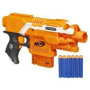 hasbro - mb fucile nerf nstrike elite stryfe blaster
