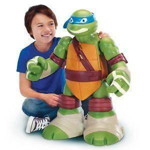 giochi preziosi leonardo turtles gigante trasformabile