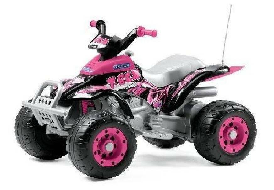 peg perego peg perego quad corral t-rex pink