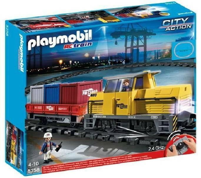 playmobil playmobil trenino trasportatore radiocomandato