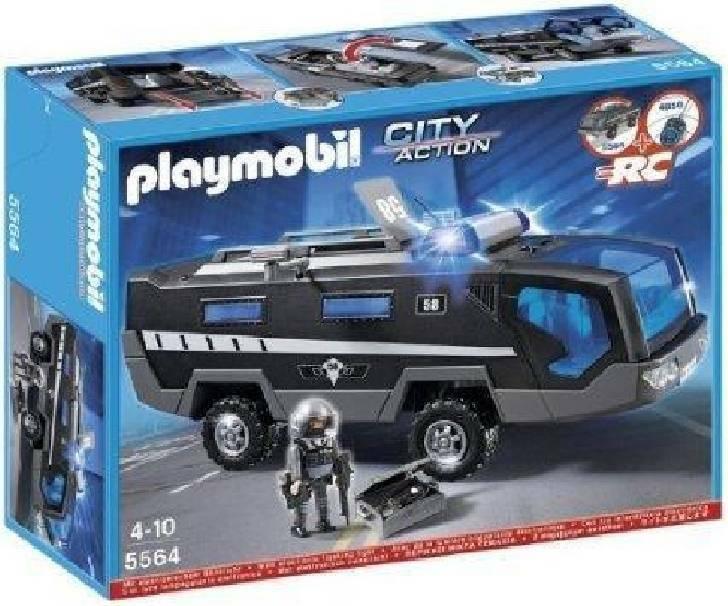 playmobil playmobil mezzo anfibio squadra speciale con luci