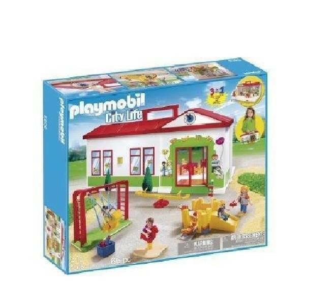 playmobil playmobil asilo portatile
