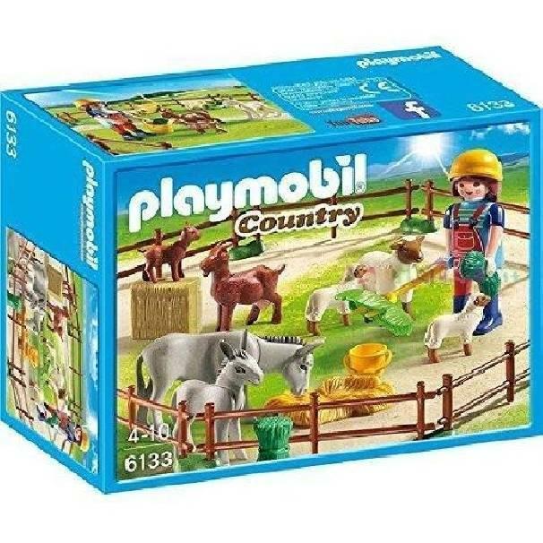 playmobil playmobil recinto degli animali