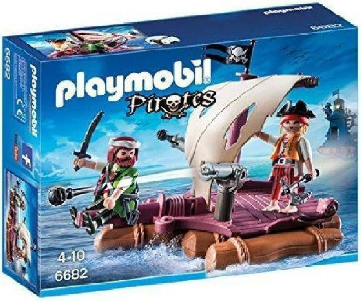 playmobil playmobil zattera dei pirati