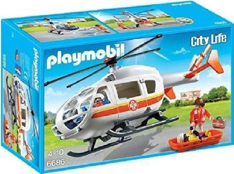 playmobil playmobil elicottero da soccorso