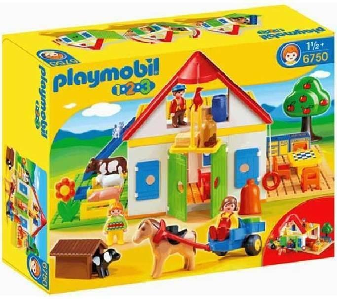 playmobil playmobil la grande fattoria 123