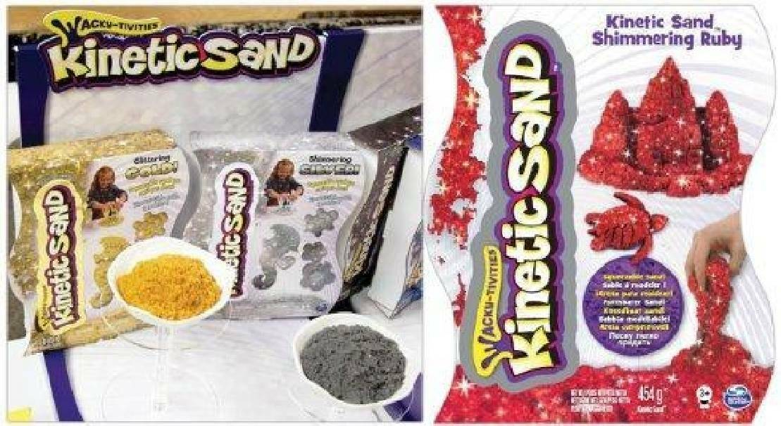 spinmaster spinmaster sabbia magica colori speciali