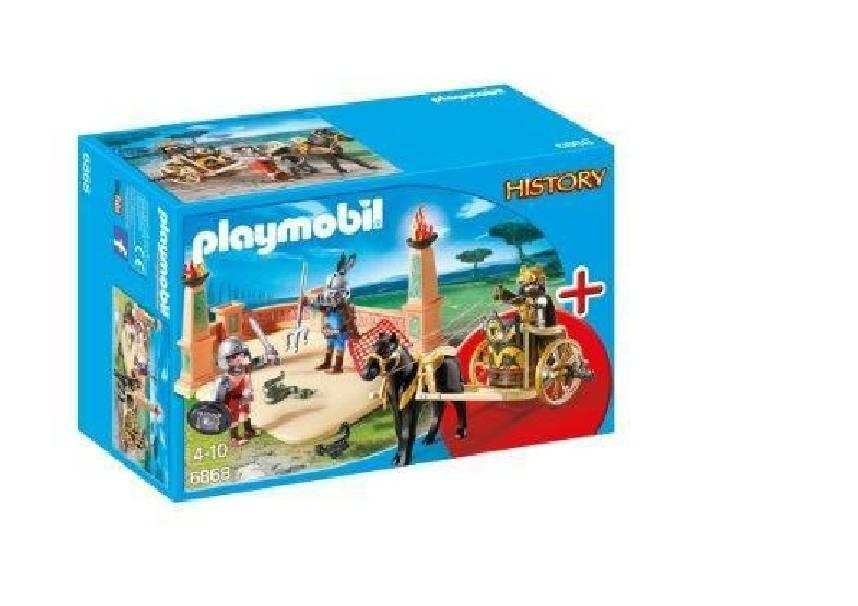 playmobil playmobil gladiatori dell'antica roma