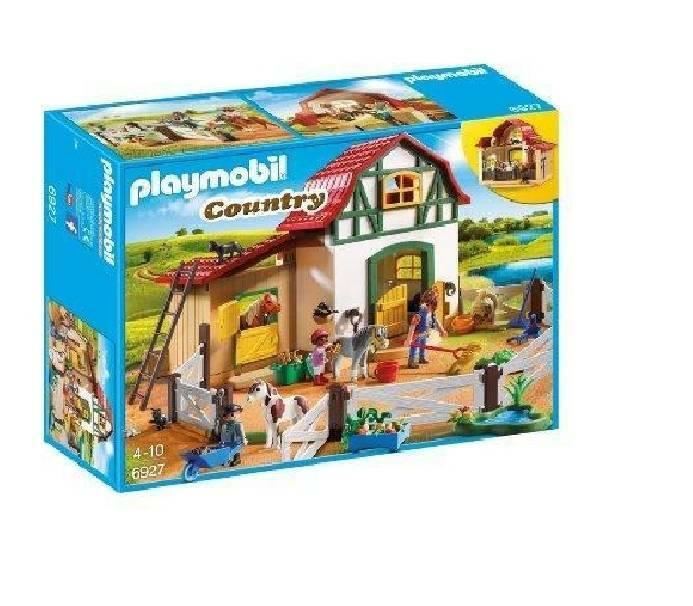 playmobil playmobil maneggio dei pony