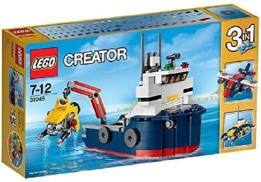 lego lego l'esploratore dell'oceano