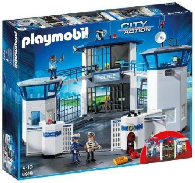 playmobil playmobil stazione della polizia con prigione