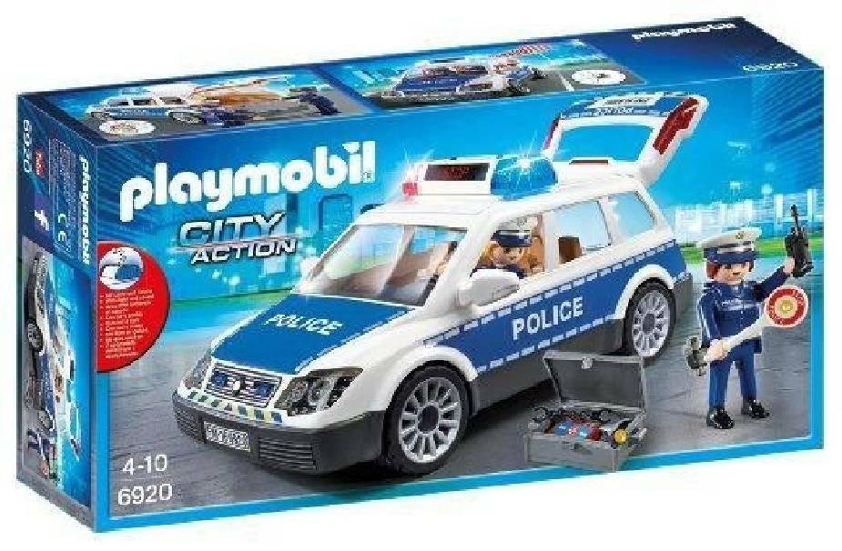 playmobil playmobil auto della polizia