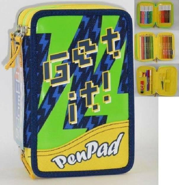 seven astuccio 3 zip pen pad seven boy