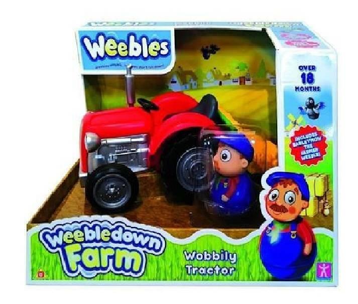 giocheria giocheria weebles farmer e trattore