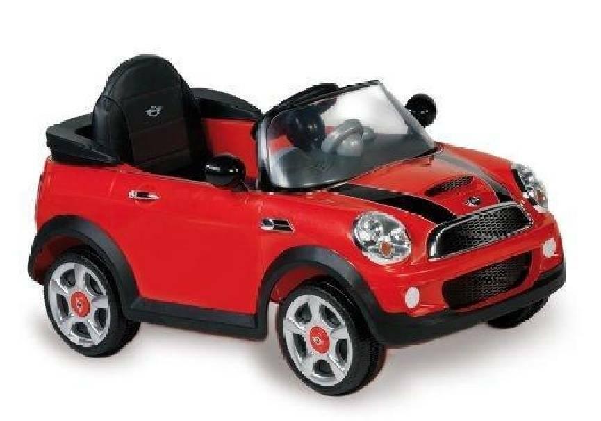 biemme biemme auto mini cooper elettrica