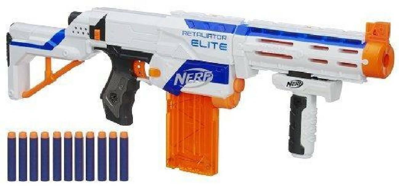hasbro - mb hasbro - mb nerf n-strike retaliator elite